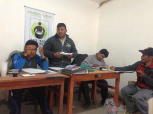 Fair Trade organic quinoa producer association AIPQUISA-C in SauSau, Bolivia