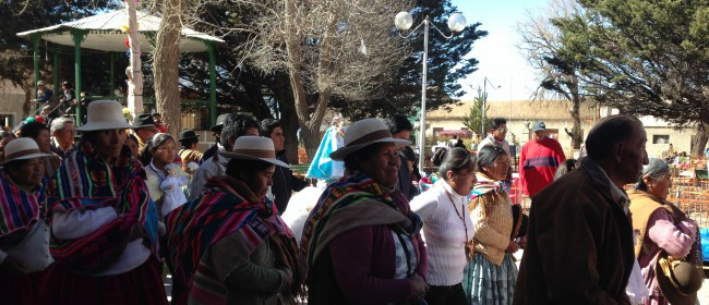 Day 28 – An interview with Bolivia's first woman Mallku